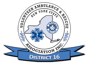 New York State Volunteer Ambulance & Rescue Association, Inc. DISTRICT 16